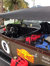 Model A packed for next part of the journey. The Great South American Challenge.